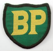 BP - Shaped Woven Patch
